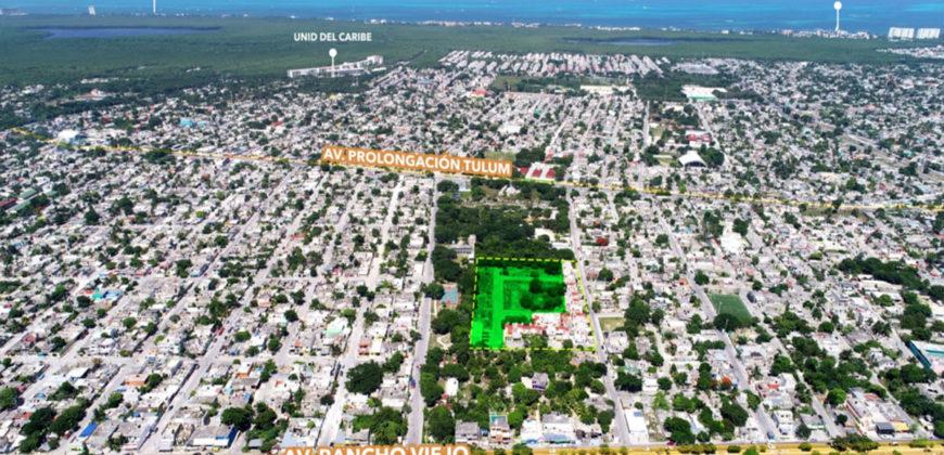 Ventas de Terreno en Zona Céntrica de Cancún.