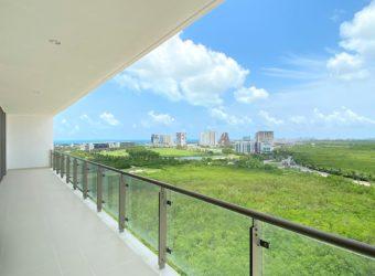 Departamento en Renta con Increíble Vista al Mar Caribe en Puerto Cancun