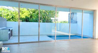 Amplia Residencia en Renta dentro de Residencial Aqua Cancún