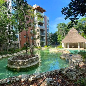 Departamento en Renta en Lagunas Mayakoba Eco Chic Living