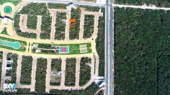 Lote en Venta para Inversión en Residencial Rio Cancún de 160 m2