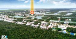 Lote residencial en exclusivo desarrollo Lagos del Sol