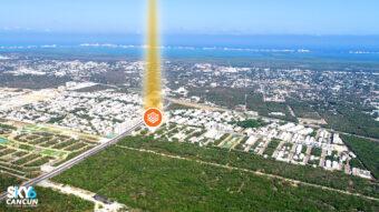 Lote residencial en venta en Cancun